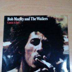 Discos de vinilo: BOB MARLEY AND TE WAILERS - LP CATCH A FIRE - BUEN ESTADO -VER FOTOS. Lote 180032701
