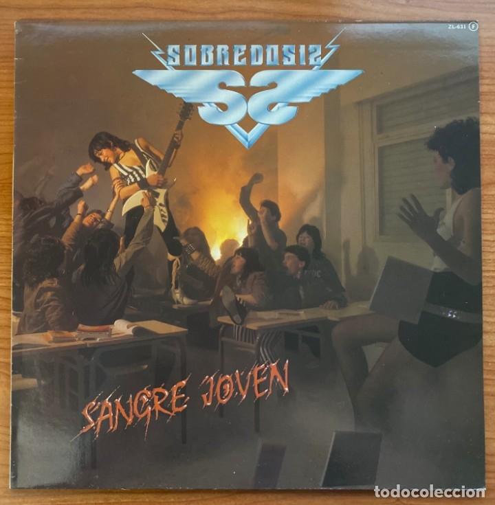 SOBREDOSIS // SANGRE JOVEN (Música - Discos - LP Vinilo - Heavy - Metal)