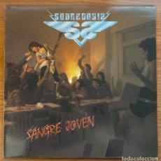 Discos de vinilo: SOBREDOSIS // SANGRE JOVEN. Lote 180038361