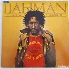 Discos de vinilo: IJAHMAN – ARE WE A WARRIOR. Lote 180040171