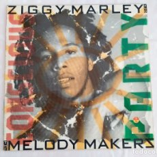Discos de vinilo: ZIGGY MARLEY AND THE MELODY MAKERS – CONSCIOUS PARTY. Lote 180040687