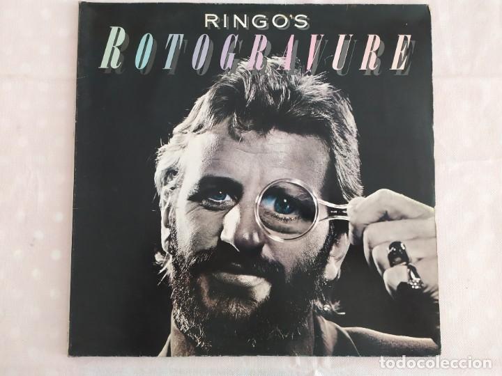 RINGO STARR – RINGO'S ROTOGRAVURE (Música - Discos - LP Vinilo - Pop - Rock - Extranjero de los 70)