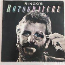 Discos de vinilo: RINGO STARR – RINGO'S ROTOGRAVURE. Lote 180041755