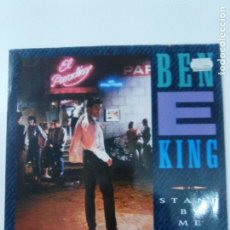 Discos de vinilo: BEN E KING STAND BY ME / THE COASTERS YAKETY YAK ( 1987 ATLANTIC GERMANY ). Lote 180042296