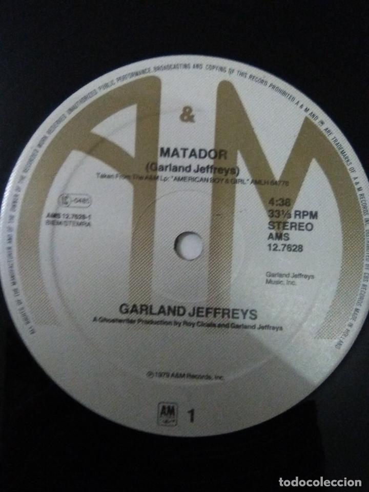Discos de vinilo: GARLAND JEFFREYS Matador ( 1979 A&M HOLLAND ) - Foto 4 - 180042353