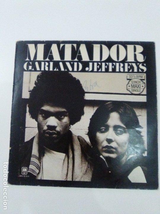 GARLAND JEFFREYS MATADOR ( 1979 A&M HOLLAND ) (Música - Discos de Vinilo - Maxi Singles - Pop - Rock Extranjero de los 70)