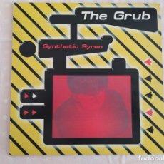 Discos de vinilo: THE GRUB – SYNTHETIC SYREN. Lote 180042382