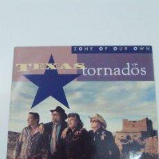 Discos de vinilo: TEXAS TORNADOS ZONE OF OUR OWN ( 1991 REPRISE GERMANY ) DOUG SAHM FLACO JIMENEZ AUGIE MEYERS FENDER. Lote 180042503