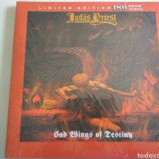 Discos de vinilo: LP ÁLBUM DISCO VINILO JUDAS PRIEST SAD WINGS OF DESTINY LIMITED EDITION. Lote 180045596