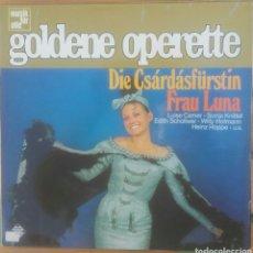 Discos de vinilo: 8 VINILOS GOLDENE OPERETTE. Lote 180051223