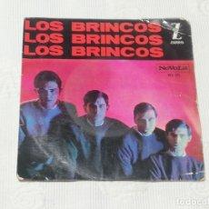 Discos de vinilo: E.P.: LOS BRINCOS - FLAMENCO / BYE, BY CHIQUILLA / ES COMO UN SUEÑO - ZAFIRO, 1964 · PESO: 49 GRAMOS. Lote 180070800
