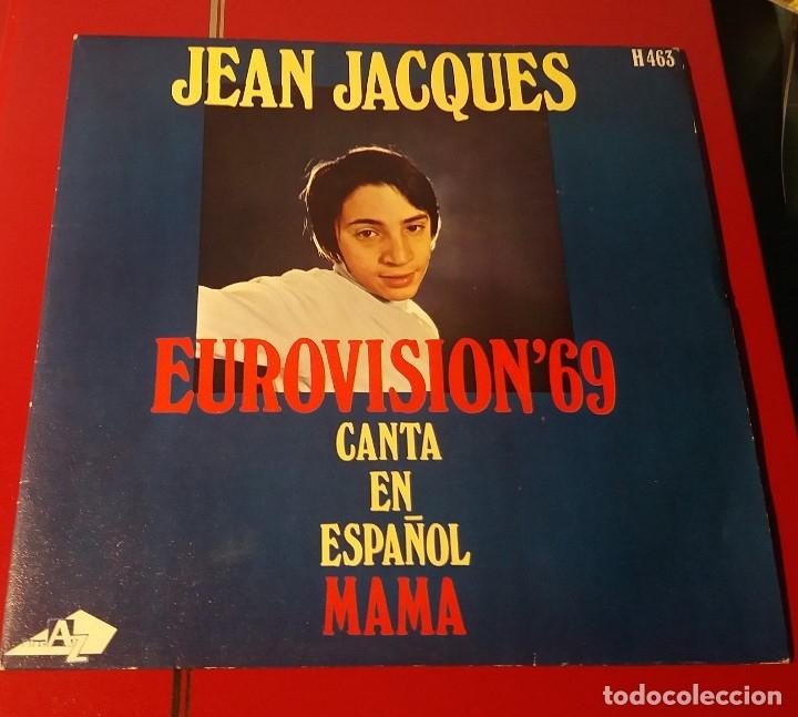JEAN JACQUES. MAMA. EUROVISIÓN 1969. HISPAVOX 1969. (Música - Discos - Singles Vinilo - Canción Francesa e Italiana)