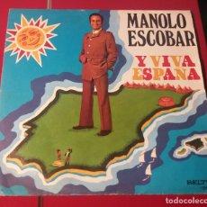 Discos de vinilo: MANOLO ESCOBAR. Y VIVA ESPAÑA. BELTER 1973.. Lote 180075753