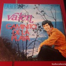 Discos de vinilo: VALEN. CAMINITO DE LA PLAYA Y PIEDAD. VICTOR 1971.. Lote 180077626
