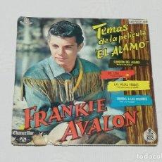 Discos de vinilo: TEMAS DE LA PELÍCULA ''EL ÁLAMO'' POR FRANKIE AVALON (BALLAD OF THE ALAMO / TENNESSEE BABE / ...). Lote 180077806