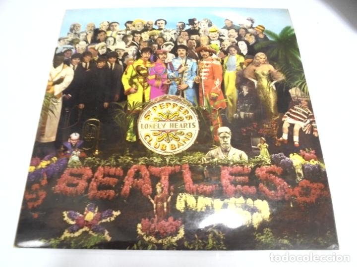 LP. THE BEATLES. SGT. PEPPERS CLUB BAND. LONELY HEARTS. 1967. CONTIENE ENCARTE. INGLATERRA (Música - Discos - LP Vinilo - Pop - Rock Extranjero de los 50 y 60)