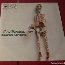 Discos de vinilo: LOS PANCHOS. LA HIEDRA Y CAMINEMOS. CBS 1973.. Lote 180078942