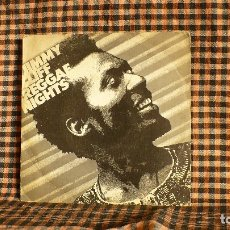Discos de vinilo: JIMMY CLIFF – REGGAE NIGHTS / ROOTS RADICAL,CBS – A-3849, 1982, 1983. . Lote 180084870