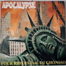 Discos de vinilo: FOUR RIDERS FEAT. DJ GHÖNSSO. APOCALYPSE. MAX . ESPAÑA.. Lote 180086518
