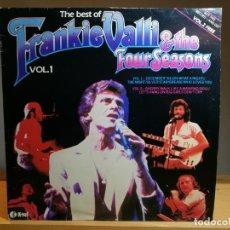 Discos de vinilo: FRANKIE VALLI AND THE FOUR SEASONS -THE BEST OF FRANKIE VALLI & THE FOUR SEASONS VOL1 LP 1982 UK-TEL. Lote 180089161