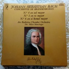 Discos de vinilo: JOHANN SEBASTIÁN BACH DISCO LP. Lote 180090155