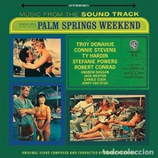 Discos de vinilo: PALM SPRINGS WEEKEND. BSO. LP. MADE IN ENGLAND.. Lote 180091213