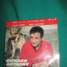 Discos de vinilo: RICHARD ANTHONY ROSE + 3. COLUMBIA. ESRF 143.3. EP.. Lote 180091981