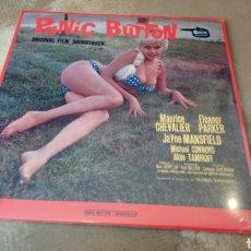 Discos de vinilo: PANIC BUTTON. ORIGINAL FILM SOUNDTRACK. GEORGES GARVARENTZ. LP VINILO PRECINTADO. B. S. O. Lote 180092765