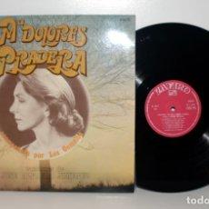 Discos de vinilo: MARÍA DOLORES PRADERA - CANTA A JOSÉ ALFREDO JIMÉNEZ LP 1975 ZAFIRO ZL156 NM/EX. Lote 180093198