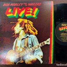 Discos de vinilo: BOB MARLEY AND THE WAILERS - LIVE! ( JAPAN IMPORT ). Lote 180093212