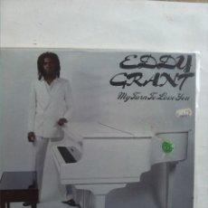 Discos de vinilo: EDDY GRANT MY TURN TO LOVE YOU. Lote 180094438