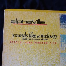 Discos de vinilo: MAXI SINGLE. ALPHA VILLE. SOUNDS LIKE A MELODY. 1984.. Lote 180099647