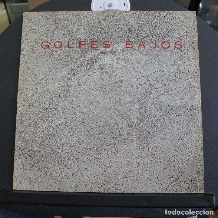 GOLPES BAJOS - MAXI SINGLE COLECCIONO MOSCAS - A SANTA COMPAÑA (Música - Discos - LP Vinilo - Grupos Españoles de los 70 y 80)