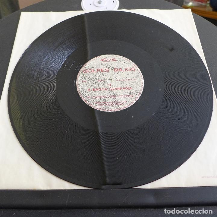Discos de vinilo: GOLPES BAJOS - MAXI SINGLE COLECCIONO MOSCAS - A SANTA COMPAÑA - Foto 9 - 180100013