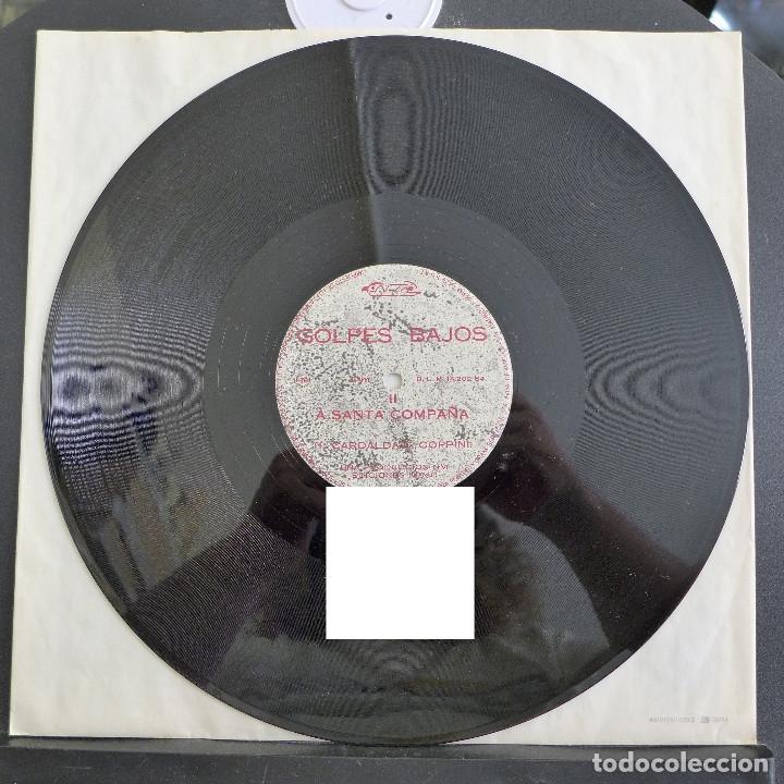 Discos de vinilo: GOLPES BAJOS - MAXI SINGLE COLECCIONO MOSCAS - A SANTA COMPAÑA - Foto 10 - 180100013