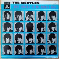 Discos de vinilo: LP THE BEATLES - QUE NOCHE LA DE AQUEL DIA - ODEON EMI 1964 1ª EDICION. Lote 180102181