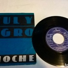 Discos de vinilo: MUSICA SINGLE: AZUL Y NEGRO - LA NOCHE / FU-MAN-CHU . Lote 180102970