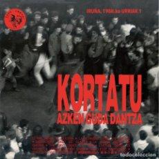 Discos de vinilo: 2LP KORTATU AZKEN GUDA DANTZA VINILO ROCK RADIKAL VASCO. Lote 205895587