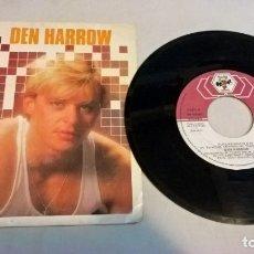 Discos de vinilo: MUSICA SINGLE: DEN HARROW - FUTURE BRAIN . Lote 180103692