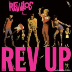 Discos de vinilo: LP THE REVILLOS REV UP NEW WAVE PUNK VINILO . Lote 180103698