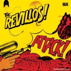 Discos de vinilo: LP THE REVILLOS ATTACK! NEW WAVE PUNK VINILO. Lote 180103870