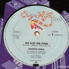 Discos de vinilo: POSITIVE FORCE - WE GOT THE FUNK - 1988. Lote 180104961