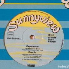 Discos de vinilo: CONNIE - EXPERIENCE - 1986. Lote 180105032