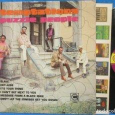 Discos de vinilo: THE TEMPTATIONS / PUZZLE PEOPLE 69 !! 1ª EDIC ORIG USA + ENCARTE / RARO PSYCHEDELIC SOUL !! TODO EX. Lote 180106018