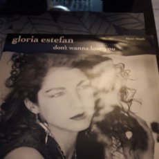 Discos de vinilo: GLORIA ESTEFAN. DON'T WANNA LOSE YOU. EDICIÓN EPIC DE 1989.. Lote 180109423