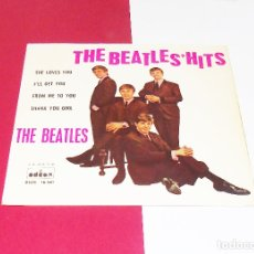 Discos de vinilo: THE BEATLES ---SHE LOVES YOU + 3 -------ORIGINAL 1ª EDICION 1963 --LABEL AZUL FUERTE ***COL***. Lote 180112555