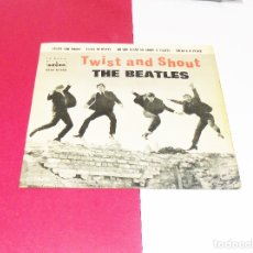 Discos de vinilo: THE BEATLES ---TWIST AND SHOUT + 3----ORIGINAL 1ª EDICION 1963 --LABEL AZUL FUERTE ** COL ***. Lote 180112663