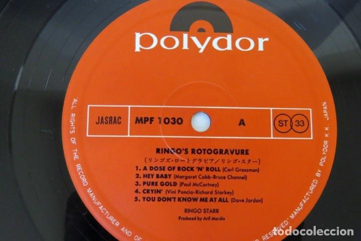 Discos de vinilo: Ringo Starr - Ringo's Rotogravure ( Japan Import ) - Foto 2 - 180112765