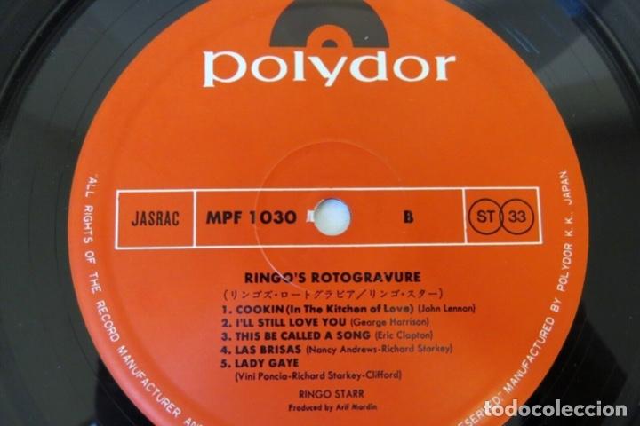 Discos de vinilo: Ringo Starr - Ringo's Rotogravure ( Japan Import ) - Foto 3 - 180112765