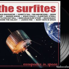 Discos de vinilo: LP THE SURFITES ESCAPADES IN SPACE VINILO SURF TOPAZ HIT LABEL LTD 300. Lote 180116232